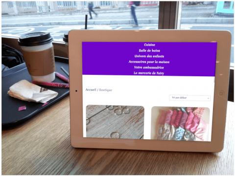 Offre Easy shop version tablette